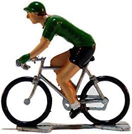 Summit Finish Ciclistas en Miniatura de Grand Tour de Fonderie Roger - Pintado a Mano (Jersey Color, Green-Sprinter): Amazon.es: Hogar