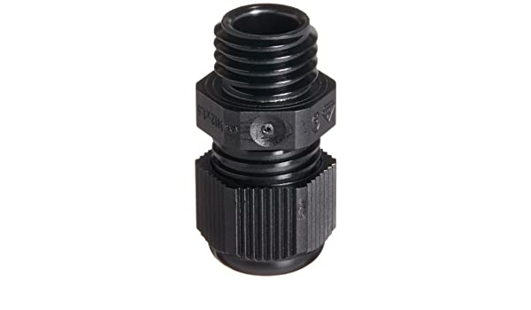Werma 960-000-32 Cable Gland M12 x 1.5mm Black 96000032 For Kompakt 36 LED Light Signal Tower