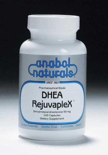 Anabol Naturals DHEA-Rejuvaplex 30 Caps: 50mg DHEA, 350mg L-Glutamine, 50mcg Sublingual B12