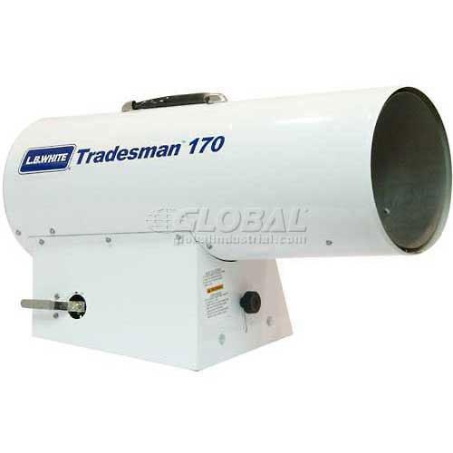 L.B. White Portable Gas Heater Tradesman, 125K-170K BTU, Natural - Natural Heater Gas Portable