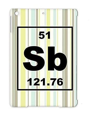 Sb Antimony Small Nerd Geek Chemistry 51 Periodic Table Chemist