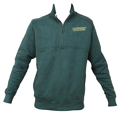n Ducks Quarter Zip Sweatshirt Forest Green - L (Elite 1/4 Zip)