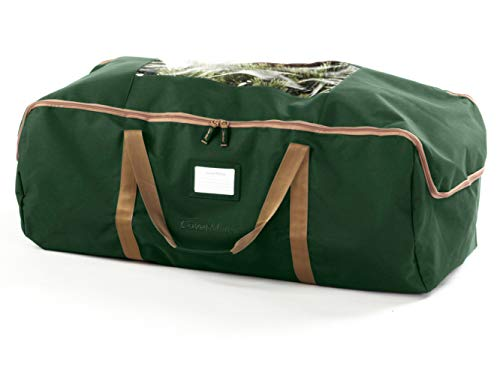 CoverMates – Large Holiday Storage Duffel Bag – Holds up to 7.5 Foot Tree – 3 Year Warranty- Green by CoverMates