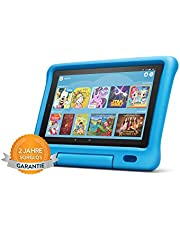 Das neue Fire HD 10 Kids Edition-Tablet | 10,1 Zoll, 1080p Full HD-Display, 32 GB, blaue kindgerechte Hülle