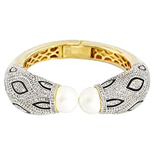 Arabella Luxuries Ladies Alloy The Enticing Swan Bangle