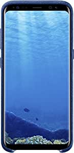 Genuine Samsung Alcantara Cover Case for Samsung Galaxy S8, Blue