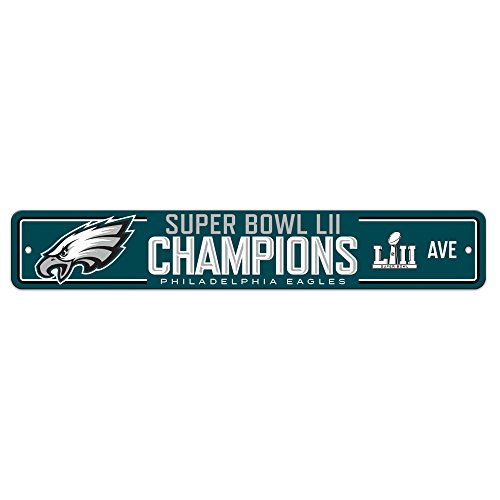 Fremont Die Nfl Super Bowl Champ Street Sign  One Size  Blue