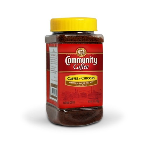 Community Coffee and Chicory Instant Coffee, 7 Ounce