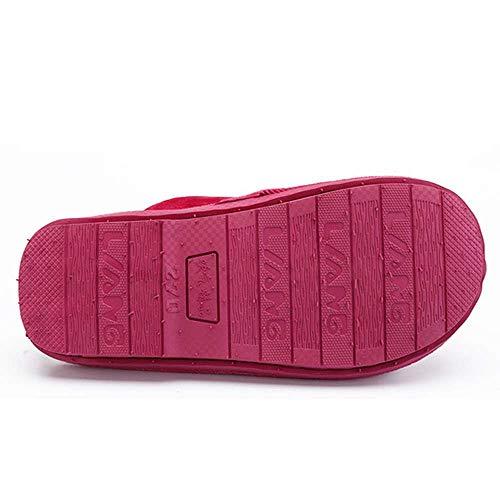 Warm Slide Men Indoor Cozy Home Women Slippers House Memory Foam Velvet Shoes Bxv4Wq