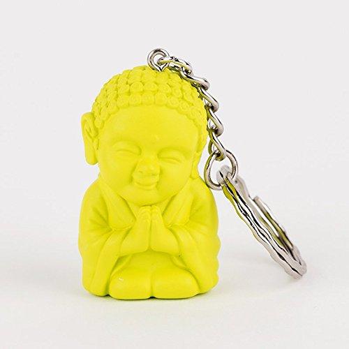 Pocket Buddha Keychain, Faith]()