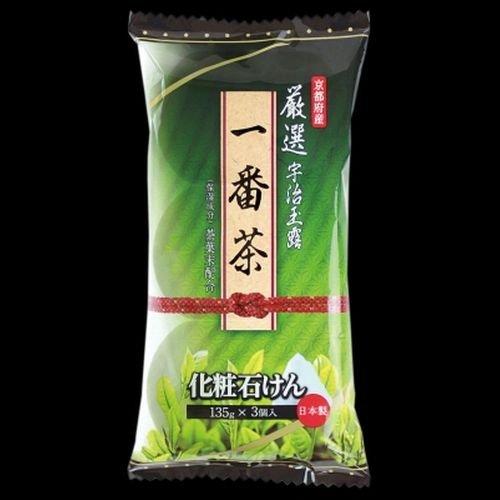 服船尾ストレス【まとめ買い】お茶?石けん 3個入 ×2セット