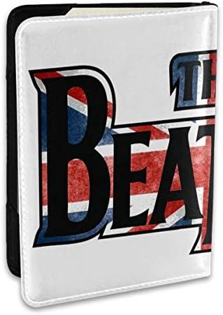 The Beatles ビートルズ パスポートケース パスポートカバー メンズ レディース パスポートバッグ ポーチ 収納カバー PUレザー 多機能収納ポケット 収納抜群 携帯便利 海外旅行 出張 クレジットカード 大容量