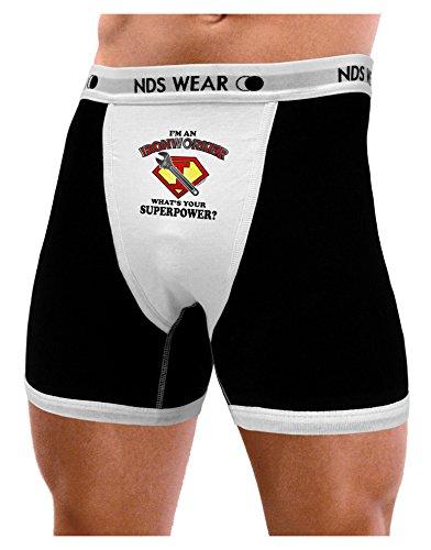 (NDS Wear TooLoud Ironworker - Superpower Mens Boxer Brief Underwear - 2XL)