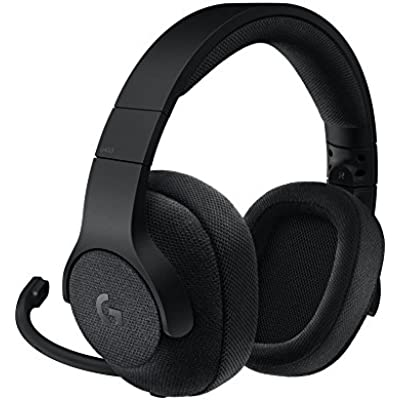 Logitech G433 Wired Gaming Headset  7 1 Surround Sound for  PC Black