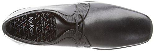 Kickers Ferock Lace2 Lthr Am - Zapatos de cordones para hombre Negro (black)