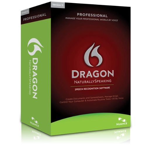 Dragon Naturally Speaking 11 Professional