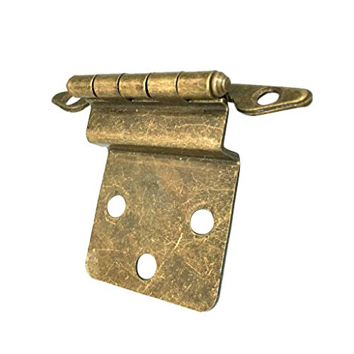 - Modern Antique Brass Mini Hinges for Wooden Furniture Box Hardware #1