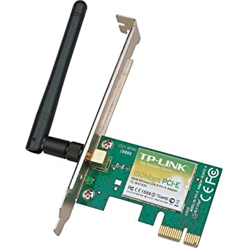 TP-LINK 150Mbps Wireless PCI Epress Adapter Interno 150Mbit ...