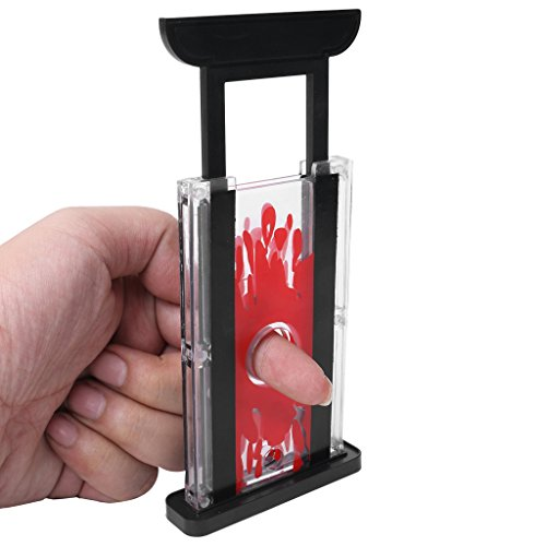 Misright Funny Finger Chopper Guillotine Hay Cutter Magician Trick Stage Prop Magic Toy