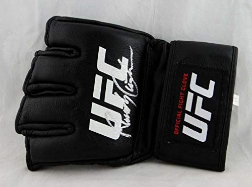 Autographed Signed Randy Couture Ufc Official Fight Glove - Beckett Authentic Silver