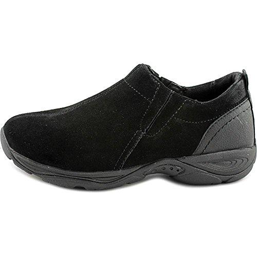 Easy Spirit Frauen Eveline Loafers Black/black Suede
