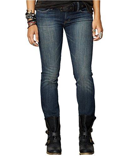 Denim & Supply Ralph Lauren Womens Denim Straight Leg Jeans Blue - Lauren Ralph Mexico Polo
