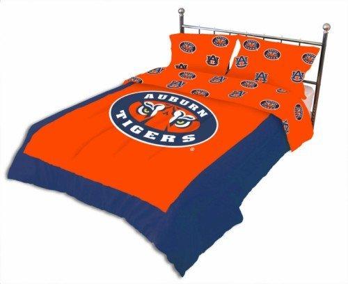 (College Covers Auburn Tigers Reversible Comforter Set (King) )