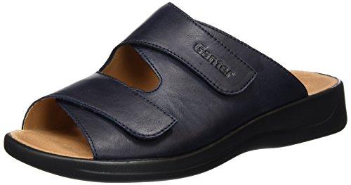 Ganter Monica, Weite G - Mules Mujer Azul - Blau (navy 3100)