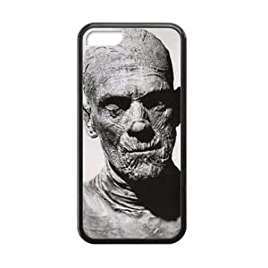 Canting_Good Mummy Custom Case Shell Skins for iPhone 5C TPU (Laser Technology)