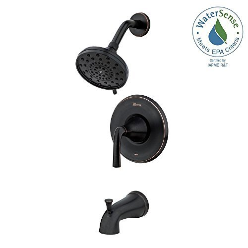 Pfister Ladera Single-Handle 3-Spray Tub and Shower Faucet in Tuscan Bronze