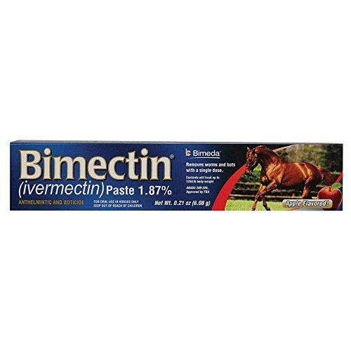 Bimectin 1.87% Single Dose Paste Wormer