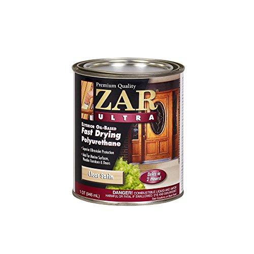 (ZAR 34112 Ultra Fast Drying Exterior Polyurethane, Satin)