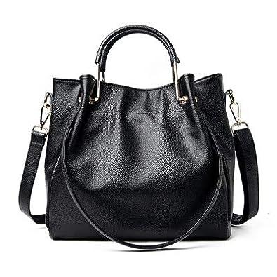 Amazon.com: RANYUE Bolsas de cuero genuino para mujer, bolso ...