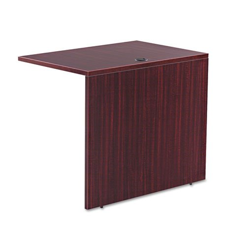 Alera VA353624MY Valencia Series Reversible Return/bridge Shell 35w X 23-5/8d Mahogany by Alera