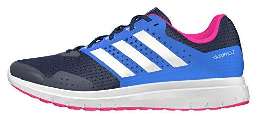 adidas Duramo 7W, Chaussures de Running Mixte Adulte Bleu (Collegiate Navy/ftwr White/shock Blue)