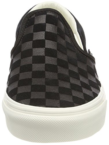 Vans Mens Slip-on (tm) Kärn Klassiker Svart / Marshmallow