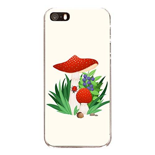 """Disagu SF-sdi-3796_1194#zub_cc4079 Design Schutzhülle für Apple iPhone 5 - Motiv """"Fliegenpilz 01"""""""