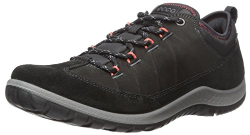 ECCO Women's Aspina Low Gore-TEX-W Hiking Shoe, Black/Black, 41 EU/10-10.5 M US by ECCO
