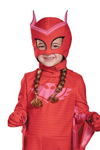Owlette Disney Costume (18700/8 Kids PJ Masks Owlette Disney Junior Glow In The Dark)