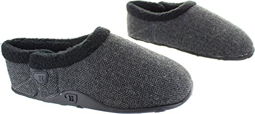 Homeys  Billy, Chaussons pour homme gris gris