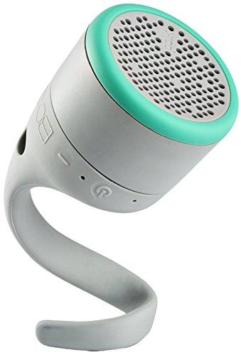 Polk BOOM Swimmer Jr Bluetooth Waterproof Speaker (Grey/Mint)