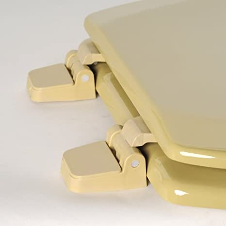 harvest gold toilet seat. Buy Comfort Seats C1B4R2 53 Deluxe Molded Wood Toilet Seat  Round Harvest Gold Online at Low Prices in India Amazon