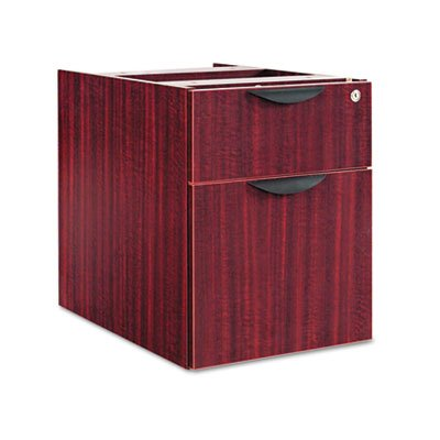 Cabinet Mahogany File Vertical (Valencia Series 3/4 Box/File Pedestal, 15 5/8w x 20 1/2d x 19 1/4h, Mahogany, Sold as 1 Each)