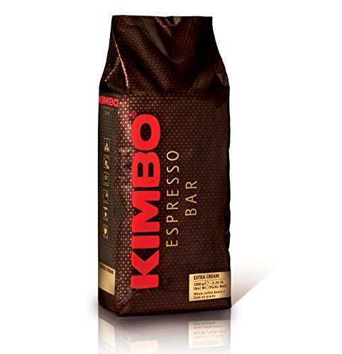 Kimbo Coffee Beans, 32 Ounce (Pack of (Cream Coffee Bar)