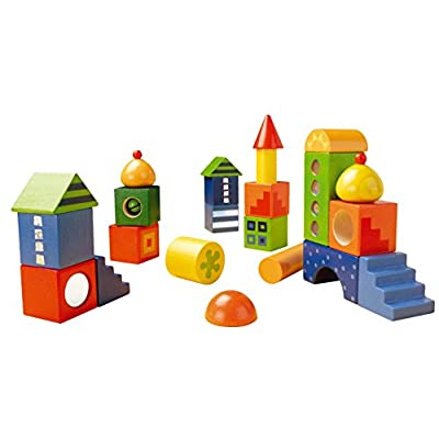 HABA Fantasy Blocks - 26 Piece Set for Ages 18 Months and Up (Made in Germany): Toys & Games