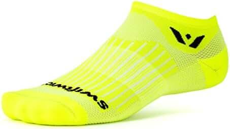 Swiftwick - Aspire ZERO, No-Show Compression Socks for Endurance Sports