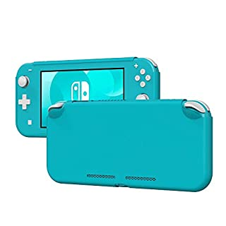 Yoobao Protective Case for Nintendo Switch Lite, Liquid Silicone Gel Rubber Case Cover Shell (Shock-Absorption, Anti-Scratch and Soft Microfiber Lining) for Nintendo Switch Lite 2019 - Turquoise
