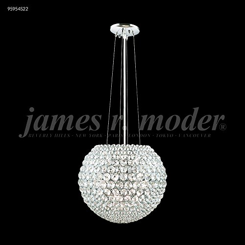 James R Moder 95954S22 Sun Sphere Europa Collection Silver ()