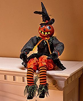 Haunting Home Decor Accents Halloween Decoration (Pumpkin sitter)