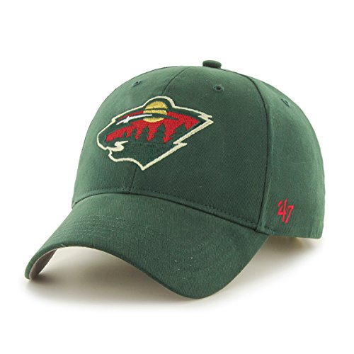 '47 NHL Toddler Basic '47 MVP Adjustable Hat, Dark Green